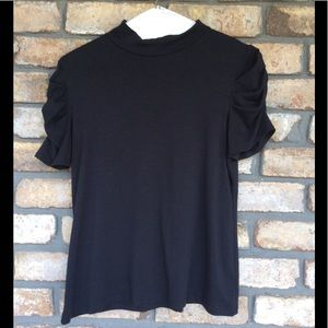 AGB Short Sleeve Capped Neck Top - NEW LISTING